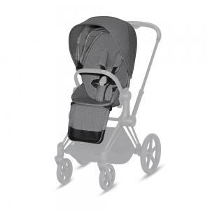 CYBEX PLATINUM - SEAT PACK PLUS PER PRIAM & ePRIAM - MANHATTAN GREY