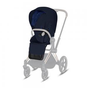 CYBEX PLATINUM - SEAT PACK PLUS PER PRIAM & ePRIAM - MIDNIGHT BLUE NAVY