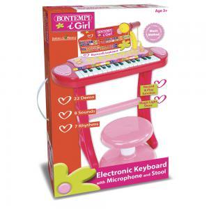 Tastiera elettronica 31 tasti con microfono gambe