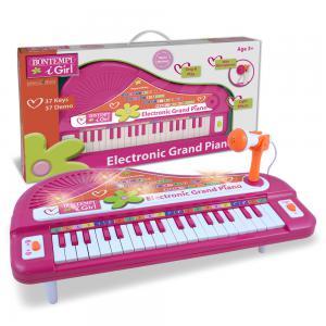 Pianoforte elettronico a coda con microfono