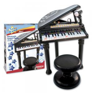 Pianoforte a coda Nero - 31 Tasti