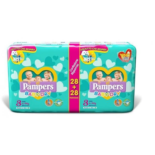 Pannolini Baby Dry - Pacco Doppio - FAT0057 - Img 1