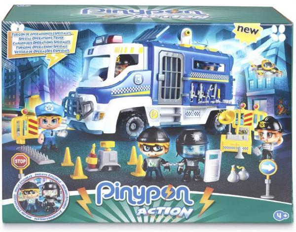 PINYPON ACTION CAMION POLIZIA + 2 PERS - GPZPNC05000 - Img 2