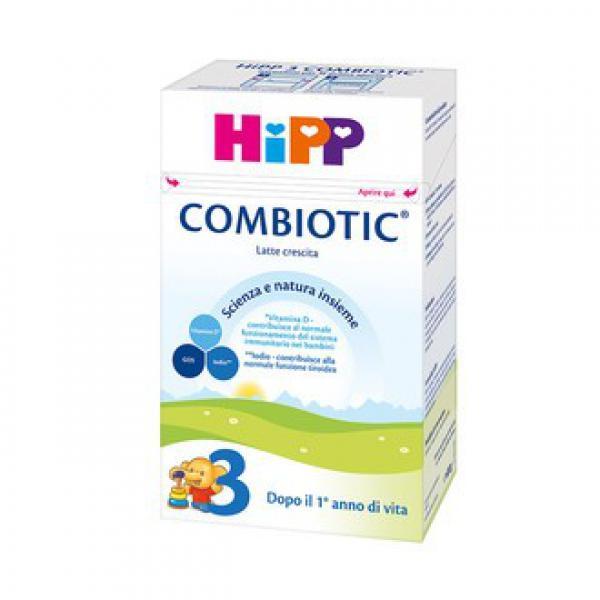 LATTE CRESCITA HIPP 3 COMBIOTIC - GR 500 - HIP970370755 - Img 1