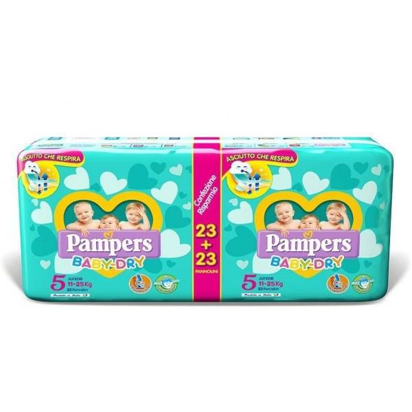 Pannolini Baby Dry - Pacco Doppio - FAT2708740 - Img 1