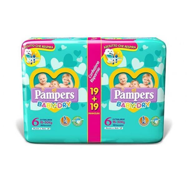 Pannolini Baby Dry - Pacco Doppio - FAT2708743 - Img 1