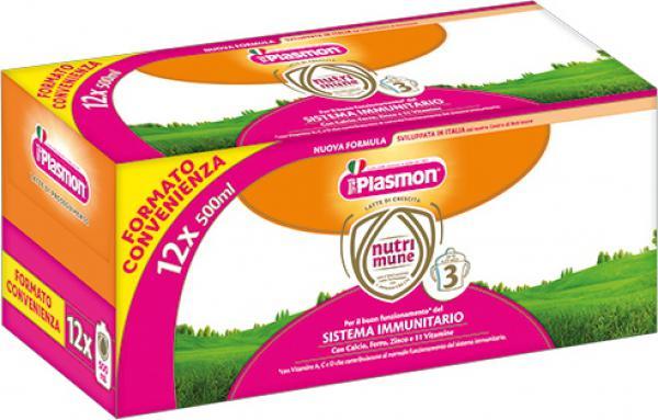 LATTE NUTRIMUNE 3 - 12X500ml - PL70311500 - Img 1