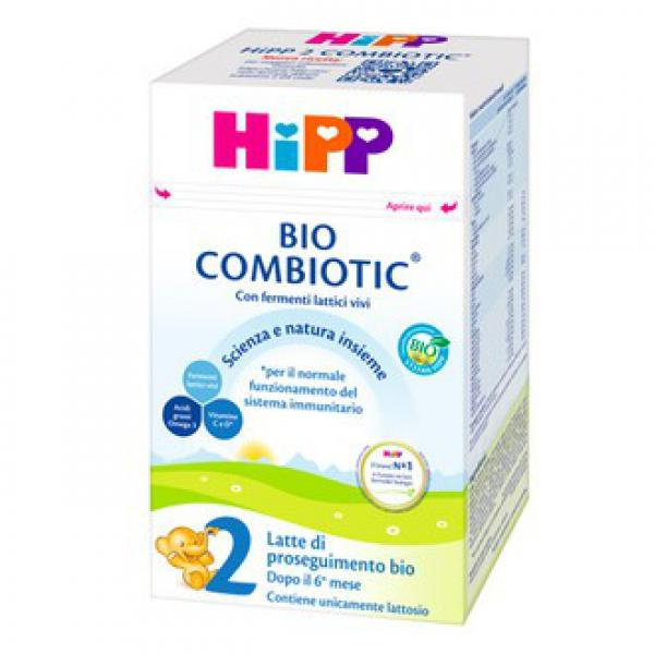 Latte crescita HiPP 2 COMBIOTIC 600gr - HIP970370742 - Img 1