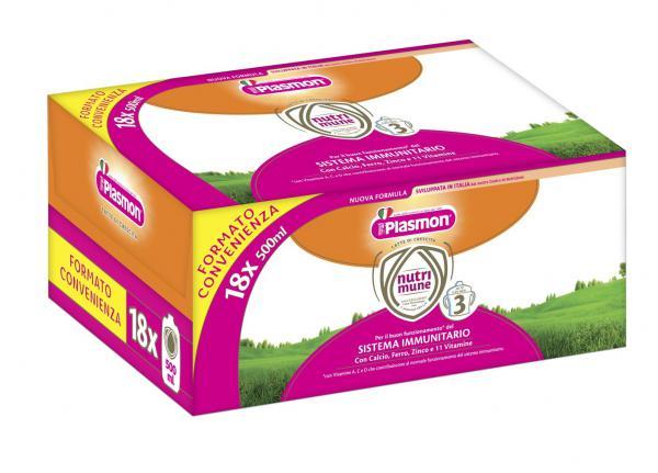 Latte Nutri-mune 3 18x500ml - PL70315300 - Img 1