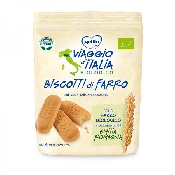 BISCOTTO DI FARRO BIO - 150G - MEL140804 - Img 1