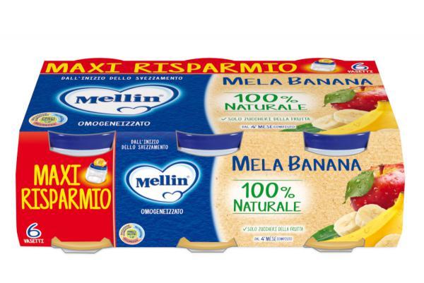 Omogeneizzato alla Frutta 6x100gr - MEL406658 - Img 1