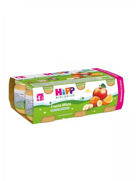 Omogeneizzato Frutta BIO 6x80gr - HIP922395177 - Img 1
