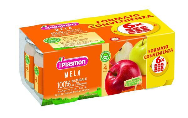 Omogeneizzato alla Frutta 6x104gr - PL1339 - Img 1