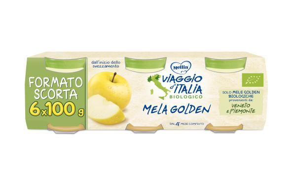 Omogeneizzato Frutta BIO 6x100gr - MEL159766 - Img 1