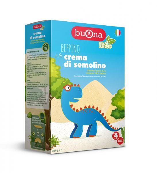 Beppino e la crema di semolino 250 g - BB7001 - Img 1