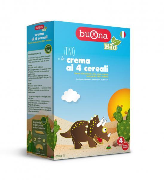 Zeno e la crema ai 4 cereali 250 g - BB7003 - Img 1