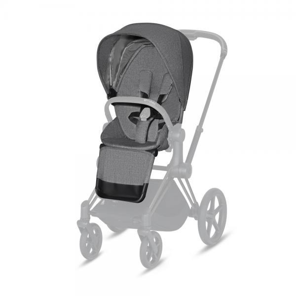 CYBEX PLATINUM - SEAT PACK PLUS PER PRIAM & ePRIAM - MANHATTAN GREY - 16CY9PRSEPL075 - Img 1
