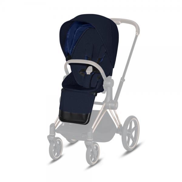 CYBEX PLATINUM - SEAT PACK PLUS PER PRIAM & ePRIAM - MIDNIGHT BLUE NAVY - 16CY9PRSEPL087 - Img 1