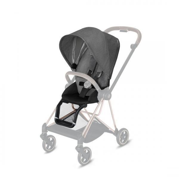 CYBEX PLATINUM - SEAT PACK PLUS PER MIOS - MANHATTAN GREY PLUS - MID GREY - 20CYMISE519004147 - Img 1