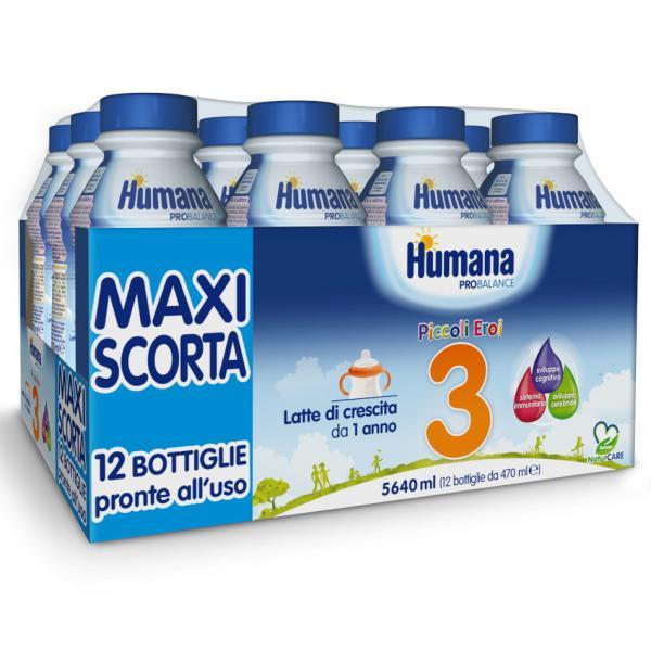 LATTE HUMANA 3 - 12x470ML - HU70033 - Img 1