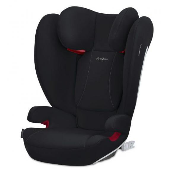 SEGGIOLINO AUTO SOLUTION B2 - FIX + LUX - VOLCANO BLACK  - 21CYAU521001039 - Img 1