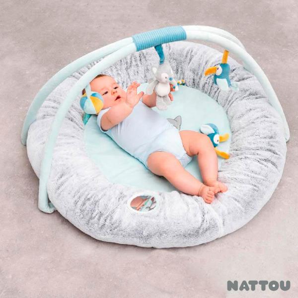 Tappeto pouf con archi - NAT498265 - Img 3