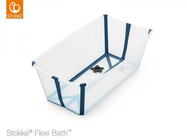 FLEXI BATH - VASCHETTA DA BAGNO PIEGHEVOLE - TRANSPARENT BLUE - 8STVA531904 - Img 1
