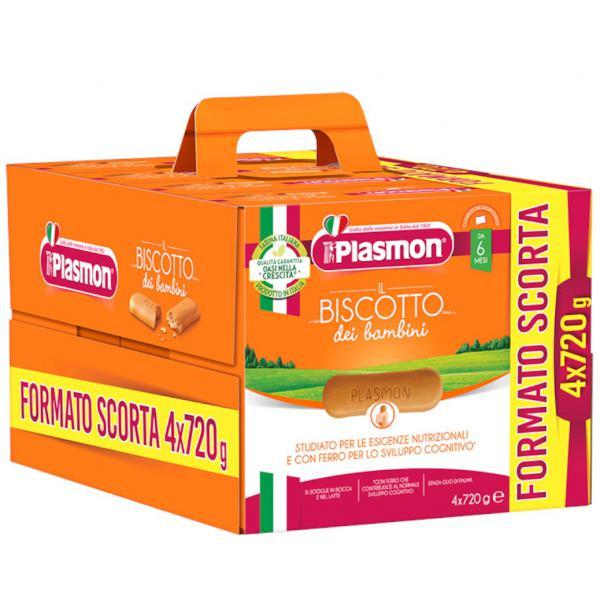 Biscotto Plasmon 4x720gr - PL70249300 - Img 1