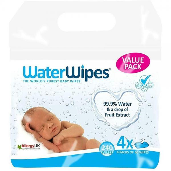 SALVIETTE BIO WATER WIPES - 4X60 - GRF400044 - Img 1