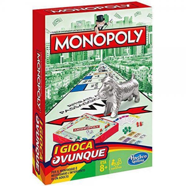 TRAVEL MONOPOLY - HASB1002103 - Img 1