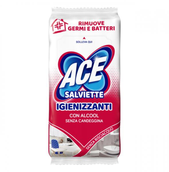 ACE Salviette igienizzanti con alcoolx40 - FAT2760065 - Img 1