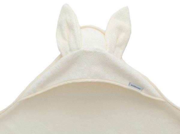 Bamboom - Asciugamano neonato con cappuccio Terry XL - Panna - BAM2010010 - Img 2