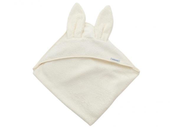 Bamboom - Asciugamano neonato con cappuccio Terry XL - Panna - BAM2010010 - Img 1