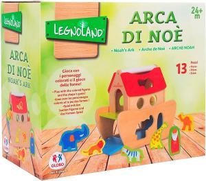 ARCA DI NOE` IN LEGNO CON 12 PERSONAGGI - GLO36591 - Img 3