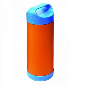 Portabiberon Termico BabyFood - Arancione e Blu - QS0130008 - Img 1
