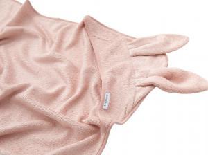 Bamboom - Asciugamano neonato con cappuccio Terry XL - Pink - BAM2010006 - Img 2