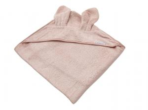 Bamboom - Asciugamano neonato con cappuccio Terry XL - Pink - BAM2010006 - Img 1