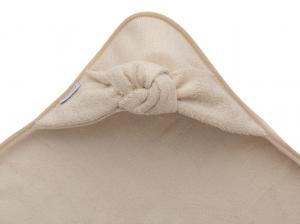 Bamboom - Asciugamano neonato con cappuccio Terry XL -  Pink Powd - BAM2010011 - Img 2